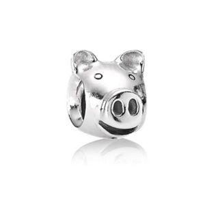 Pig pandora charm